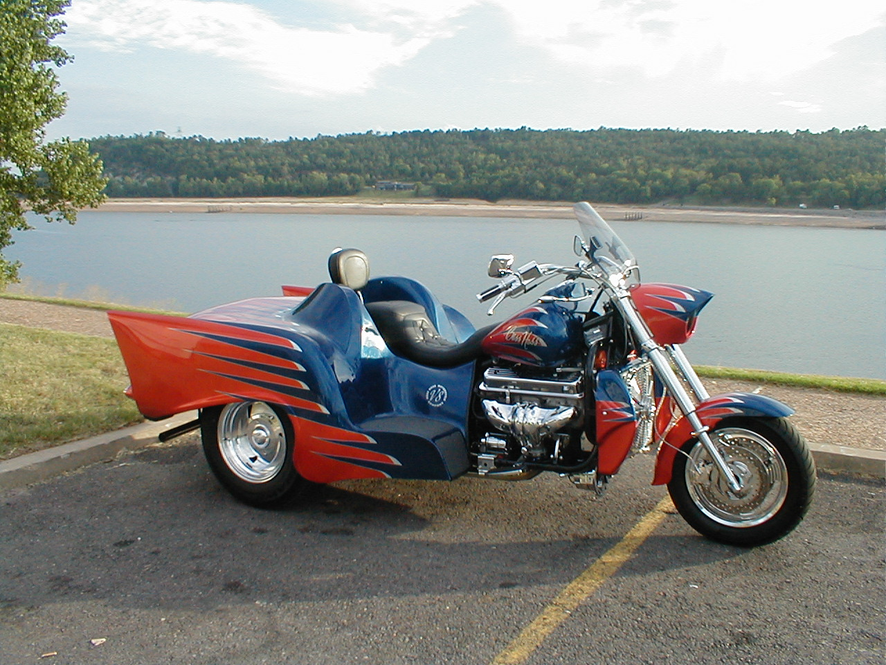 anyone ride a trike page 2 honda shadow forums shadow motorcycle forum. Black Bedroom Furniture Sets. Home Design Ideas